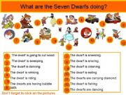 English powerpoint: What are dwarfs doing?
