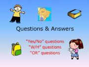 English powerpoint: Questions & Answers