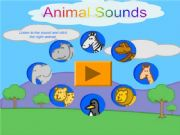 English powerpoint: Animal Sounds Game