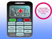 English powerpoint: Emergency Phone Game