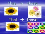 English powerpoint: this/these, that/those