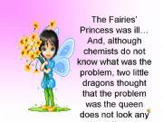 English powerpoint: The fairies´ princess