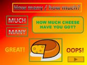 English powerpoint: HOW MUCH / HOW MANY game
