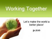 English powerpoint: Make the World a Better Place