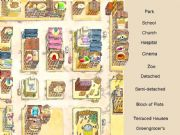 English powerpoint: Shops, Houses and Places in the city - Interactive Game (fully editable) - Part 1 of  3