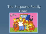 English powerpoint: Family game