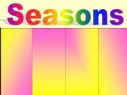 English powerpoint: seasons