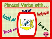 English powerpoint: Phrasal Verbs - Game 02 - with Look