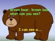 English powerpoint: Brown Bear Brown Bear