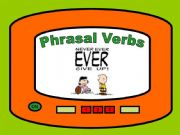 English powerpoint: Phrasal Verbs - Game 01