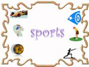English powerpoint: sports