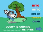 English powerpoint: PREPOSITIONS OF MOVEMENT - Part 2/2 INTERACTIVE GAME (fully editable)
