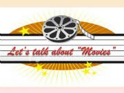 English powerpoint: Let´s talk about