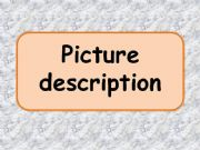 English powerpoint: Picture description