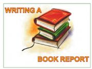 English powerpoint: Writing a Book Report