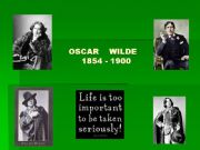 English powerpoint: Oscar Wilde´s biography and work Part 1