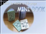 English powerpoint: How to make a 16-page Mini Book