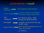 English powerpoint: Revision of Tenses (Part 3)