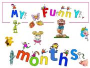 English powerpoint: My funny months