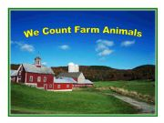 English powerpoint: We Count Farm Animals