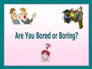 English powerpoint: Adjectives: Source-Experiencer