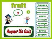 English powerpoint: Vocabulary: fruit