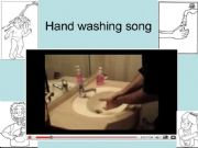 English powerpoint: Hand washing song