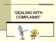 English powerpoint: Complaints in a restaurant
