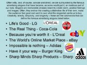 English powerpoint: ADVERTISING (5/5)