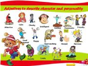 English powerpoint: 41 Adjectives to describe character and personality