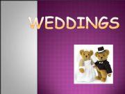 English powerpoint: weddings