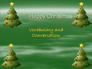 English powerpoint: Happy Christmas