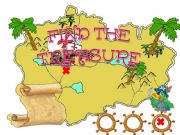 English powerpoint: Find the treasure 1 /with sounds/