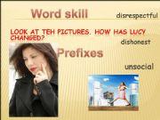 English powerpoint: PREFIX