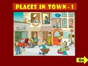 English powerpoint: PLACES IN TOWN - GAME (1)