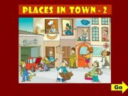 English powerpoint: PLACES IN TOWN - GAME (2)