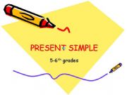 English powerpoint: Present Simple Rules