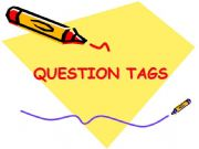 English powerpoint: question tags