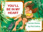 English powerpoint: LCP - You´ll be in my heart