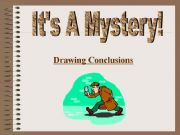 English powerpoint: Drawing Conclusions Power point