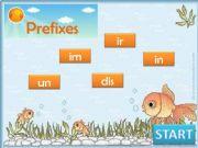 English powerpoint: Make opposites - Prefixes Game part 1