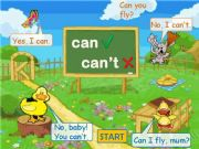 English powerpoint: Can-Can´t Game Part 1
