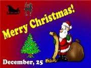 English powerpoint: Merry Christmas!