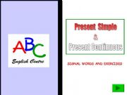 Verb to be present tense exercise