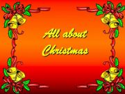 English powerpoint: All about Christmas vocabulary presentation