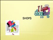 English powerpoint: Types of shops