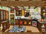 English powerpoint:  40 hidden items of food in the kitchen.(2/2)