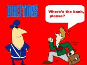 English powerpoint: Directions