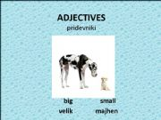 English powerpoint: Adjectives-opposites