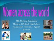 English powerpoint: Women and power